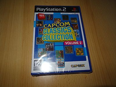 ps2 CAPCOM Classics Collection Vol 2 Volume Two Playstation 2 PAL NEW SEALED