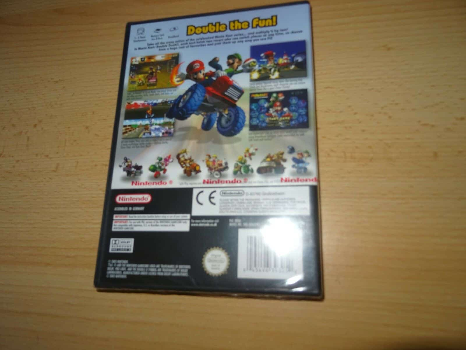 Nintendo Gamecube Mario Kart Double Dash New Sealed Pal